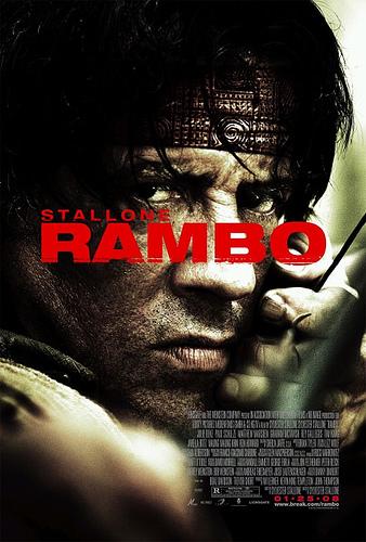 Tercer cartel de Rambo